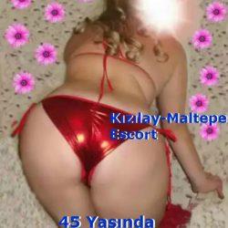 Olgun escort güzeli Esra 45 yaşında